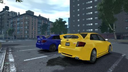 2011 Subaru Impreza WRX STi リア